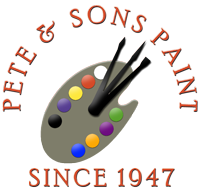 Pete and Sons Paint and Wallpaper Logo Contact Us